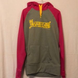 Nike livestrong  hooded  sweatshirt size large